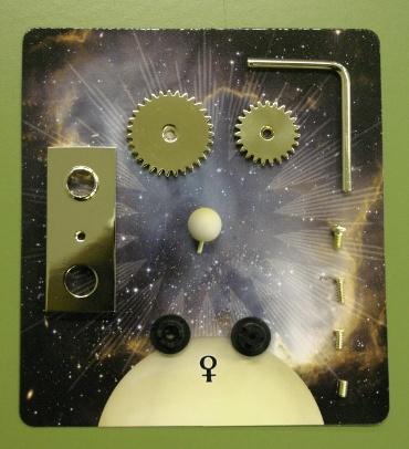 『週刊 天体模型 太陽系をつくる』第6号の部品