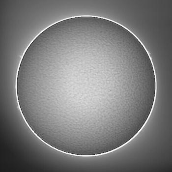 Hαによる太陽像 2009年5月9日