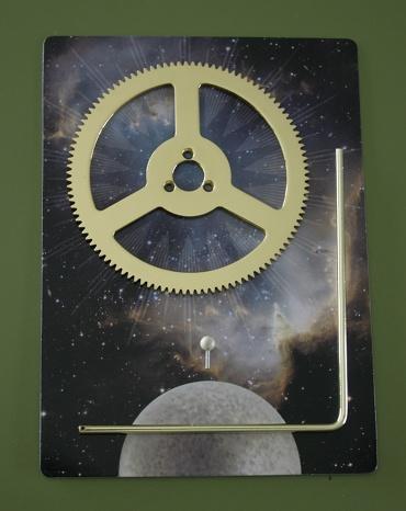 『週刊 天体模型 太陽系をつくる』第16号の部品