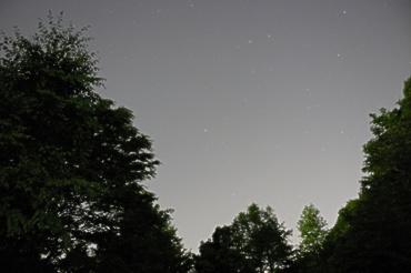 北の空 2009年5月14日 逆川緑地にて
