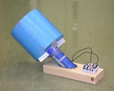 手作りピンホール式プラネタリウム