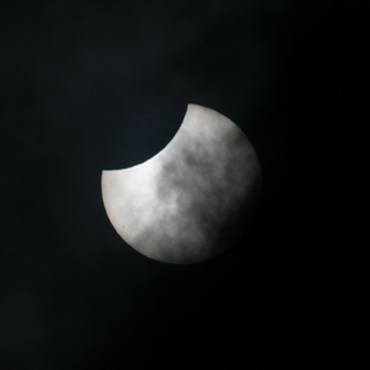 2004年10月14日の部分日食