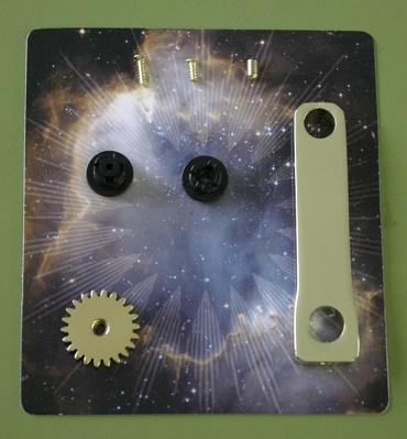 『週刊 天体模型 太陽系をつくる』第25号の部品