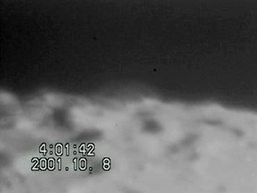 土星食 2001年10月8日午前4時01分 新潟県にて