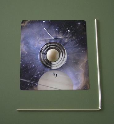 『週刊 天体模型 太陽系をつくる』第26号の部品