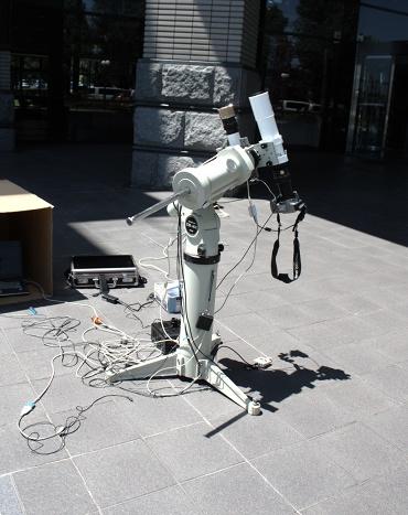 日食撮影用の装備