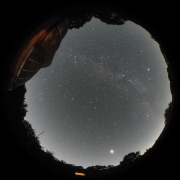 2009年7月20日 城里町ふれあいの里天文台にて
