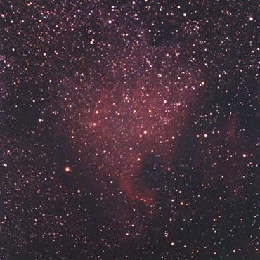 北アメリカ星雲 2001年7月15日撮影