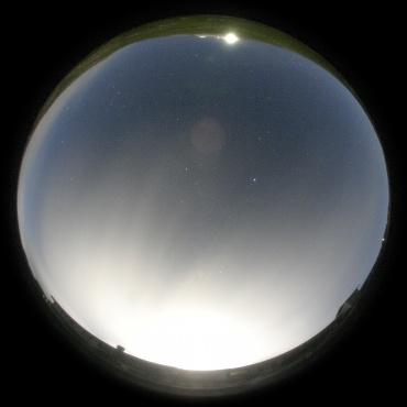 乗鞍の夜空 2009年9月1日21:00頃