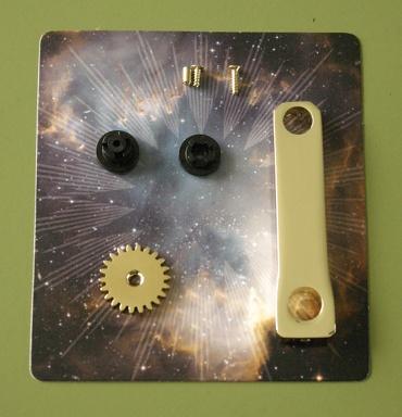 『週刊 天体模型 太陽系をつくる』第35号の部品