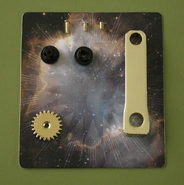 『週刊 天体模型 太陽系をつくる』第40号の部品