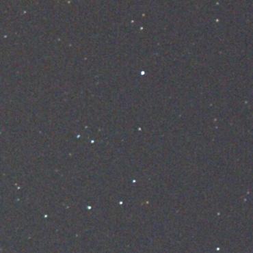 Canon EF50mm F1.8Ⅱ 絞りF4.0での周辺星像