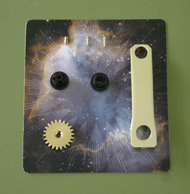 『週刊 天体模型 太陽系をつくる』第45号の部品