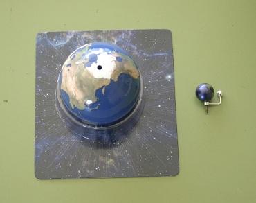 前シリーズと新シリーズ 地球の比較