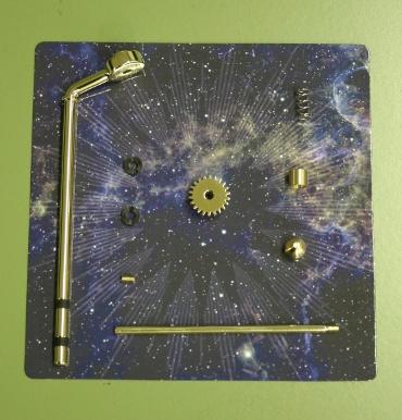『週刊 天体模型 太陽系をつくる』第53号(三球儀編第2号)の部品