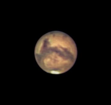 大接近直前の火星 2003年8月24日