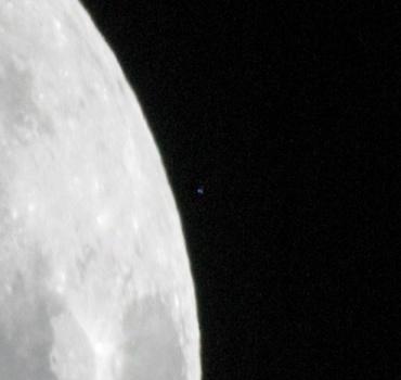 「アルキオネ」の出現 2010年1月25日20:48頃
