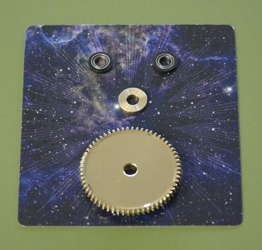『週刊 天体模型 太陽系をつくる』第54号(三球儀編第3号)の部品