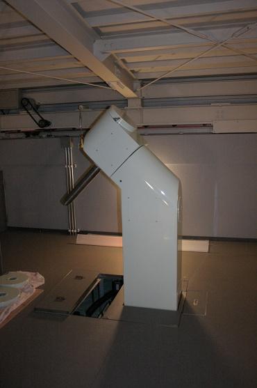 名寄市天文台50cm望遠鏡の赤道儀 2010年1月29日