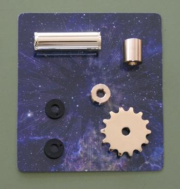 『週刊 天体模型 太陽系をつくる』第55号(三球儀編第4号)の部品
