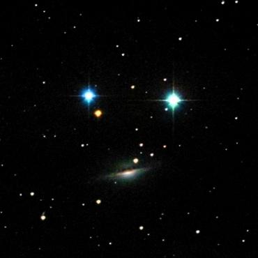 くじら座の系外銀河NGC1055