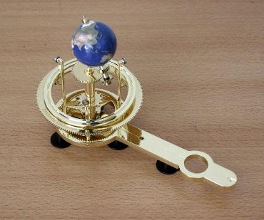 『週刊 天体模型 太陽系をつくる』第60号(三球儀編第9号)までの進捗状況