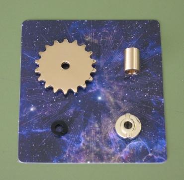 『週刊 天体模型 太陽系をつくる』第67号(三球儀編第16号)の部品