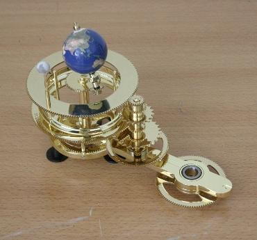 『週刊 天体模型 太陽系をつくる』第72号(三球儀編第21号)までの進捗状況