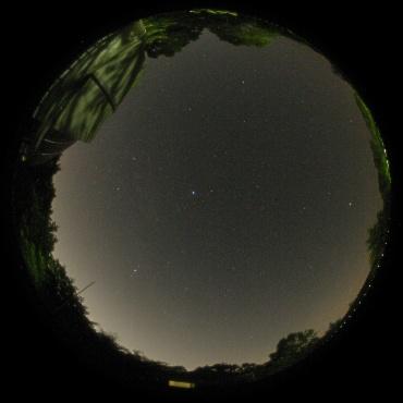 2010年6月13日 城里町ふれあいの里天文台屋上にて