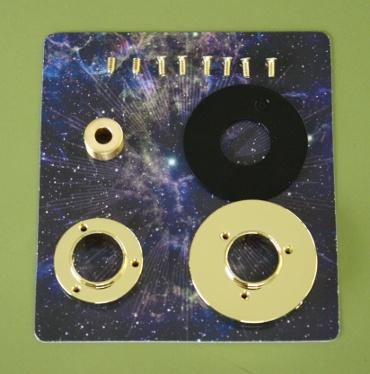 『週刊 天体模型 太陽系をつくる』第76号(三球儀編第25号)の部品