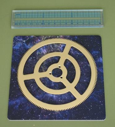 『週刊 天体模型 太陽系をつくる』第78号(三球儀編第27号)の部品