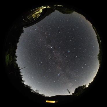 2010年8月4日 城里町ふれあいの里天文台にて