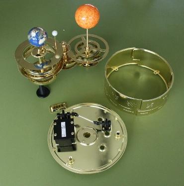 『週刊 天体模型 太陽系をつくる』第83号(三球儀編第32号)までの進捗状況