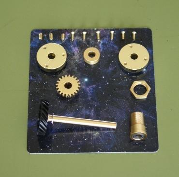 『週刊 天体模型 太陽系をつくる』第84号(三球儀編第33号)の部品