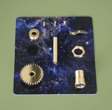 『週刊 天体模型 太陽系をつくる』第87号(三球儀編第36号)の部品
