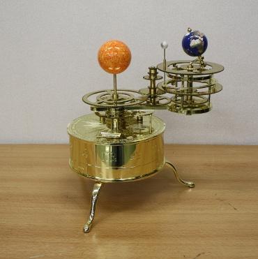 『週刊 天体模型 太陽系をつくる』第93号(三球儀編第42号)までの進捗状況