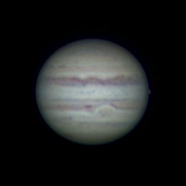2009年8月14日の木星