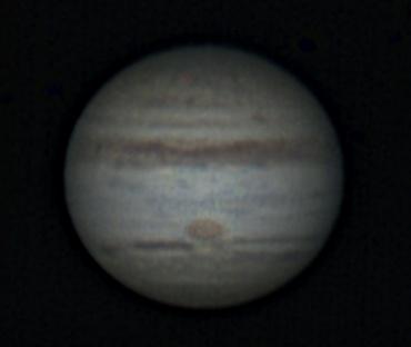 2009年8月29日の木星