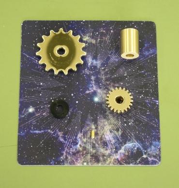 『週刊 天体模型 太陽系をつくる』第96号(三球儀編第45号)の部品