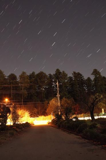 明け方の東の空 2010年11月25日 自宅にて