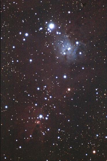 いっかくじゅう座のコーン星雲