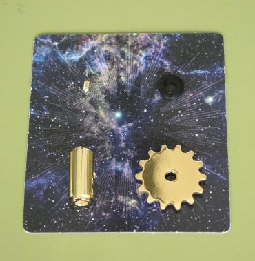 『週刊 天体模型 太陽系をつくる』第98号(三球儀編第47号)の部品
