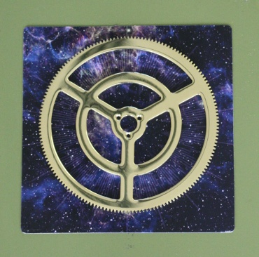 『週刊 天体模型 太陽系をつくる』第100号(三球儀編第49号)の部品