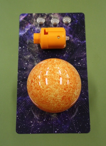 『週刊 天体模型 太陽系をつくる』第102号(三球儀編第51号)の部品