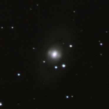 おおぐま座の系外銀河NGC3945 2011年1月7日撮影