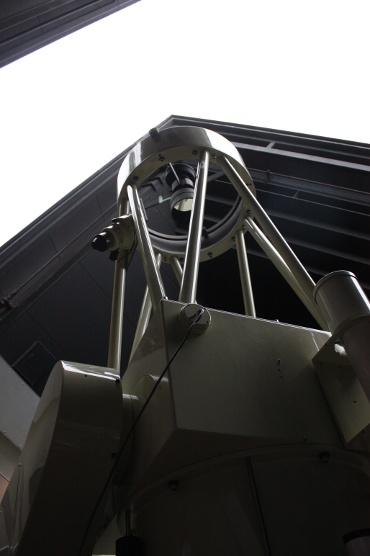 にしわき経緯度科学館の81cm反射望遠鏡