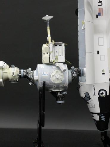 「ユニティ」の地球側共通結合機構に取り付けられた PMA-3