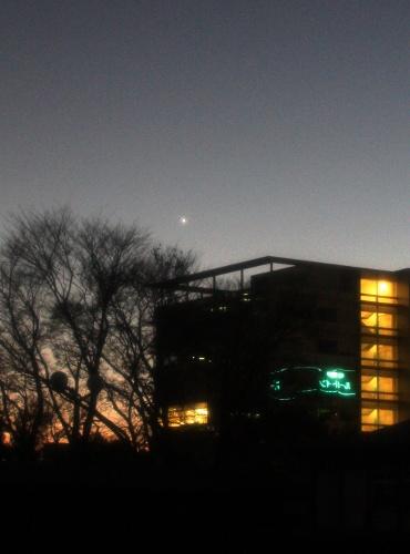 宵の明星 2011年12月4日