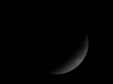 月食中の月 2011年12月10日 22:45:00