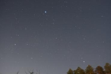 昇る夏の大三角 2012年3月13日